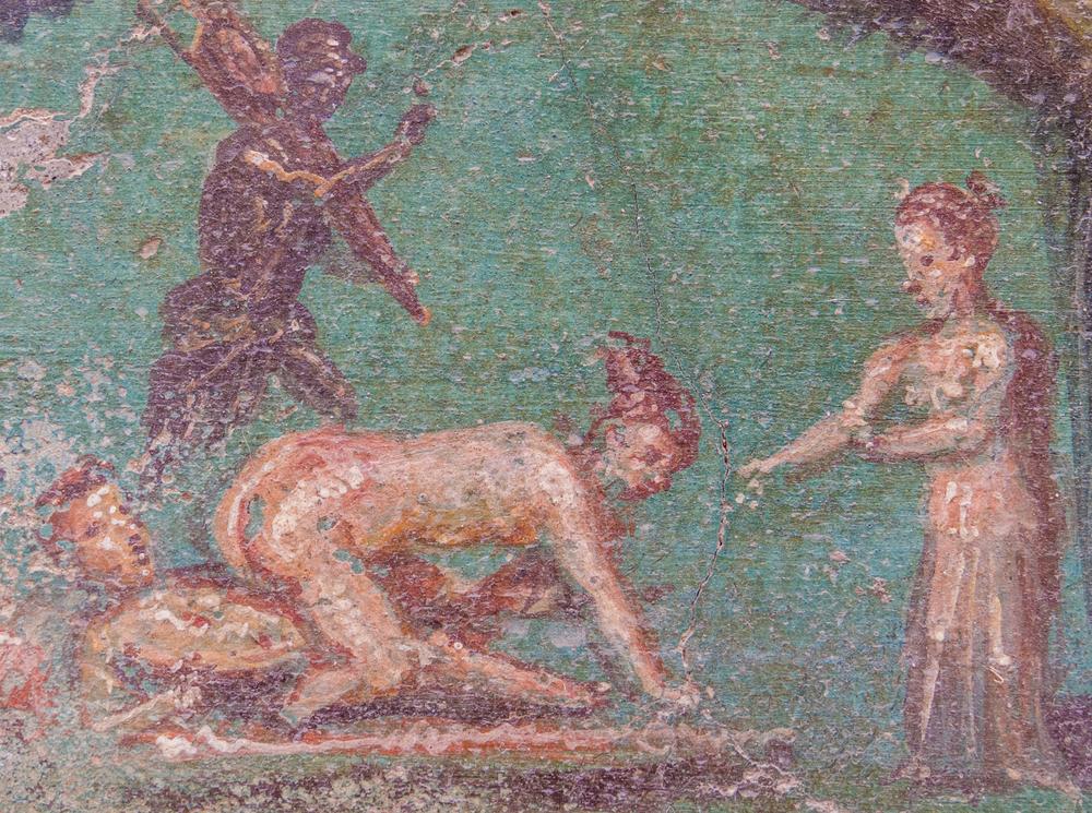 Graffiti als frühes soziales Sex-Netzwerk im antiken Pompeji